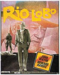 Rio Lobo - 11 x 17 Movie Poster - French Style A