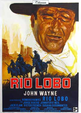 Rio Lobo - 11 x 17 Movie Poster - Italian Style A