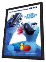 Rio - 27 x 40 Movie Poster - Style D - in Deluxe Wood Frame