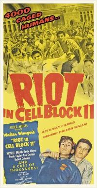 Riot in Cell Block 11 - 11 x 17 Movie Poster - Style A