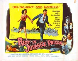 Riot in Juvenile Prison - 30 x 40 Movie Poster UK - Style A