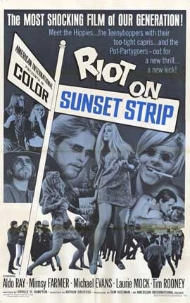 Riot on Sunset Strip - 11 x 17 Movie Poster - Style A