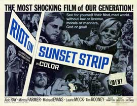 Riot on Sunset Strip - 11 x 14 Movie Poster - Style A