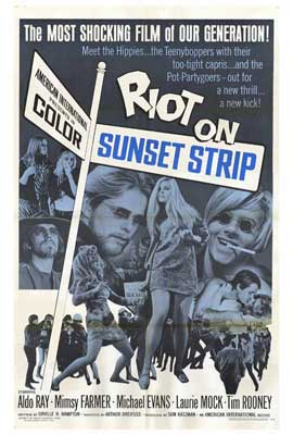 Riot on Sunset Strip - 27 x 40 Movie Poster - Style A