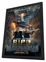 R.I.P.D. - 11 x 17 Movie Poster - Style A - in Deluxe Wood Frame