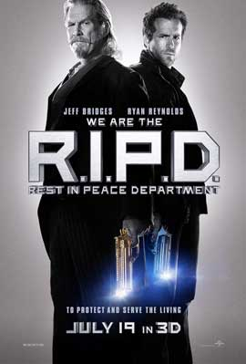 R.I.P.D. - 27 x 40 Movie Poster - Style A