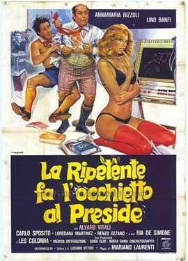 La Ripetente fa l'occhietto al preside - 11 x 17 Movie Poster - Italian Style A