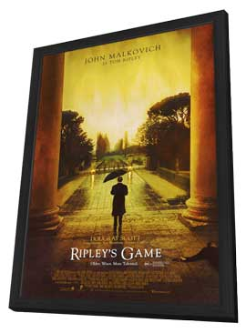 Ripley's Game - 27 x 40 Movie Poster - Style A - in Deluxe Wood Frame