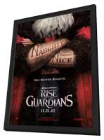 Rise of the Guardians - 27 x 40 Movie Poster - Style A - in Deluxe Wood Frame