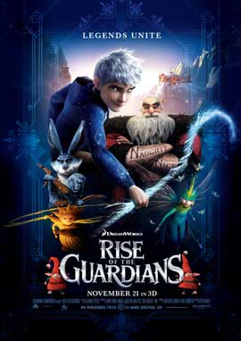 Rise of the Guardians - DS 1 Sheet Movie Poster - Style A