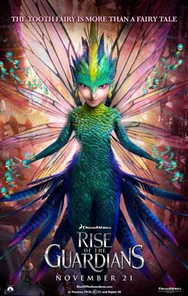 Rise of the Guardians - 11 x 17 Movie Poster - Style E