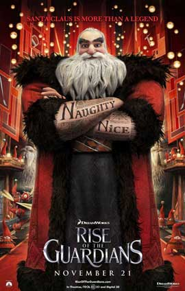 Rise of the Guardians - 11 x 17 Movie Poster - Style F