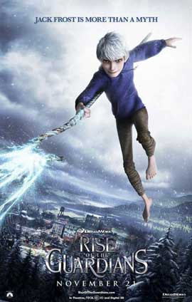 Rise of the Guardians - 27 x 40 Movie Poster - Style F