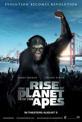 Rise of the Planet of the Apes - 27 x 40 Movie Poster - International Style A