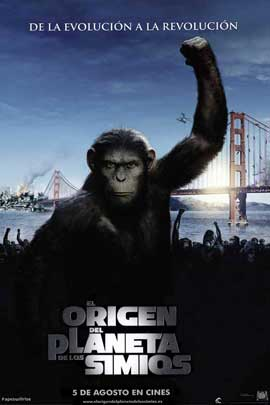 Rise of the Planet of the Apes - 27 x 40 Movie Poster - Spanish Style A