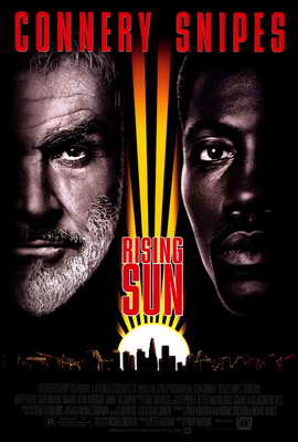 Rising Sun - 27 x 40 Movie Poster - Style A