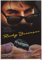 Risky Business - 11 x 17 Movie Poster - French Style A
