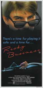 Risky Business - 14 x 36 Movie Poster - Australian Style A