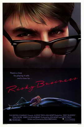 Risky Business - 11 x 17 Movie Poster - Style A