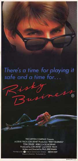 Risky Business - 11 x 17 Movie Poster - Australian Style A