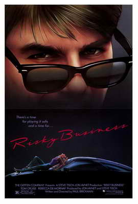 Risky Business - 27 x 40 Movie Poster