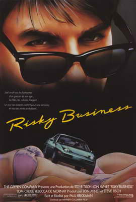 Risky Business - 27 x 40 Movie Poster - French Style A