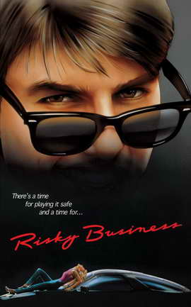 Risky Business - 11 x 17 Movie Poster - Style C