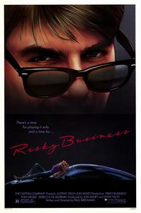 Risky Business - 43 x 62 Movie Poster - Bus Shelter Style A