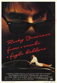 Risky Business - 11 x 17 Movie Poster - Italian Style A