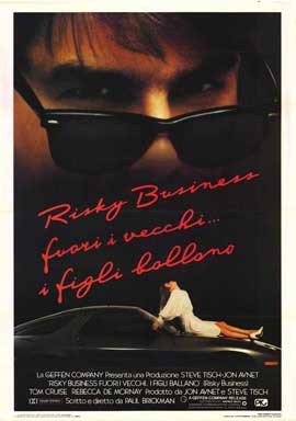 Risky Business - 27 x 40 Movie Poster - Italian Style A