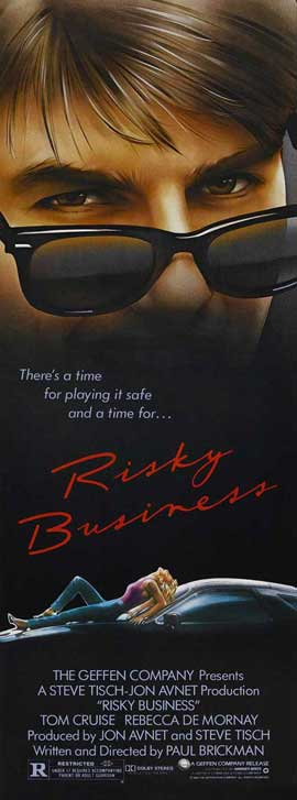 Risky Business - 14 x 36 Movie Poster - Insert Style A
