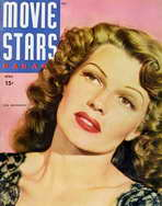 Rita Hayworth - 11 x 17 Movie Stars Parade Magazine Cover 1940's