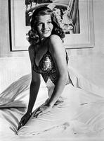 Rita Hayworth - Rita Hayworth Posed Sideways Facing Forward