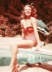 Rita Hayworth - 8 x 10 Color Photo #1