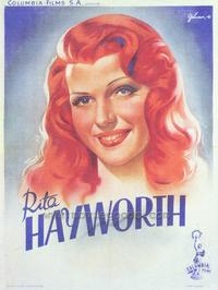 Rita Hayworth - 43 x 62 Movie Poster - Bus Shelter Style A