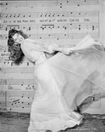 Rita Hayworth - Rita Hayworth Posed in Long Skirt