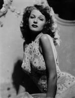 Rita Hayworth - Rita Hayworth Posed with a Expressionless Face