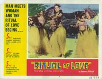 Ritual of Love - 11 x 14 Movie Poster - Style E