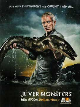 River Monsters - 11 x 17 Movie Poster - Style A