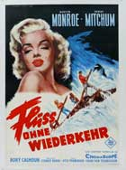 River of No Return - 11 x 17 Movie Poster - German Style A