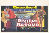 River of No Return - 11 x 17 Poster - Foreign - Style B