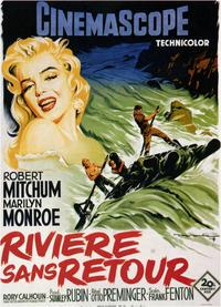 River of No Return - 11 x 17 Poster - Foreign - Style C