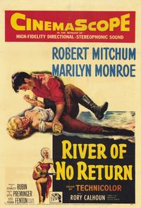 River of No Return - 27 x 40 Movie Poster - Style A