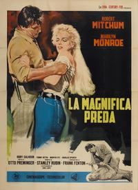River of No Return - 11 x 17 Movie Poster - Italian Style C