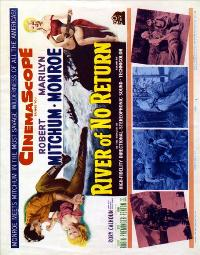 River of No Return - 11 x 17 Movie Poster - UK Style A
