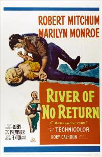 River of No Return - 11 x 17 Movie Poster - Style D
