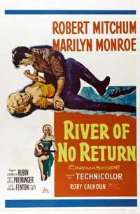 River of No Return - 43 x 62 Movie Poster - Bus Shelter Style A