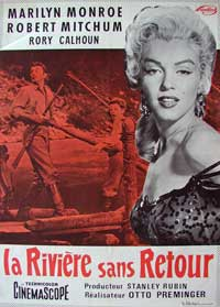 River of No Return - 11 x 17 Movie Poster - French Style B