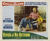 River of No Return - 11 x 14 Movie Poster - Style B