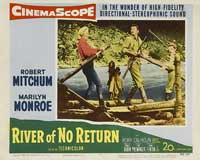 River of No Return - 11 x 14 Movie Poster - Style D